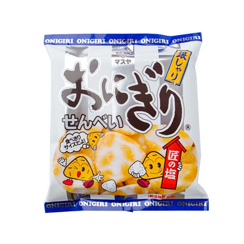 55gおにぎりせんべい銀しゃり(1ケース20袋入)